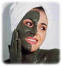 Маска для лица - лечебная грязь сапропель